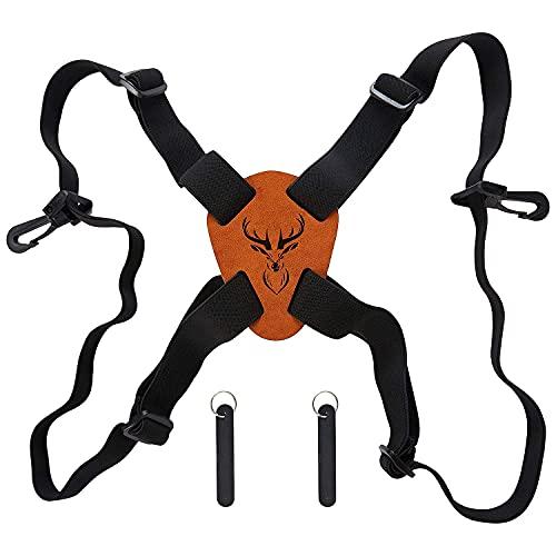 Binocular Harness, GUNACC Binocular Strap for Hunting Camera Chest Harness Shoulder Strap, Fits for Carrying Binocular, Cameras, Rangefinders, etc