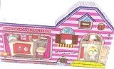 Toy 13 Stück Puppenhaus Möbelzubehör & kleines Haustier