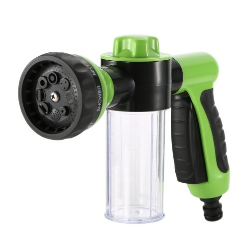 Floratek Multifunctional Car Wash Nozzle with Soap Dispenser 8 in 1 High...