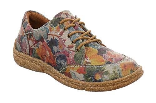 Josef Seibel Neele 02 Womens Casual Lace Up Shoes Multi 37 EU