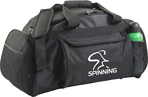 Spinning - Borsa sportiva unisex, taglia grande, colore: Nero