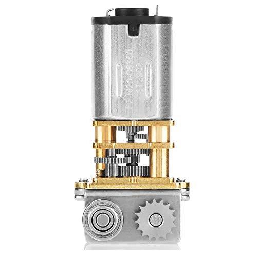stronerliou DC12V 11RPM N20 rechtwinkliges Metallgetriebe Mikrogetriebemotor für 3D-Druckstift