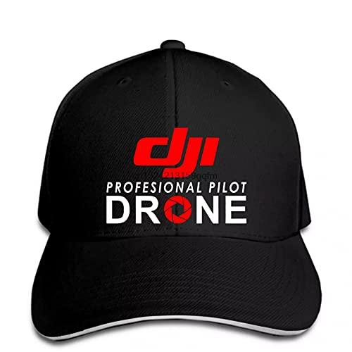 OEWFM Berretto da Baseball Cappello da Baseball Professionale con Drone Pilota con Visiera Regalo Cappello Stampato