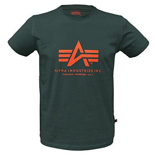 Alpha Ind. Basic T-Shirt Dark Petrol - XL