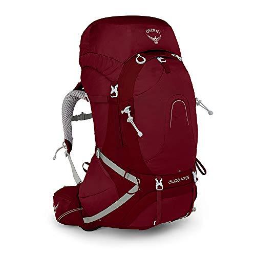 Osprey Europe Damen Aura AG 65 Backpacking Pack, Gamma Red, WM