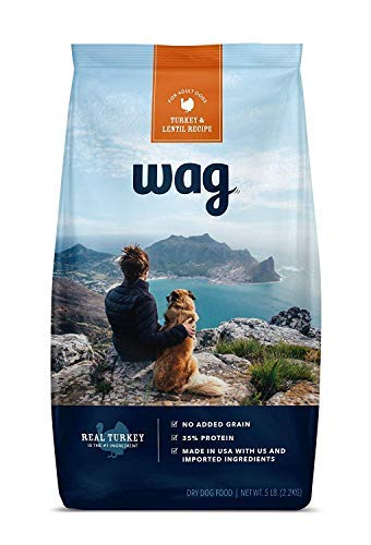 Save 40% on Wag dry dog food (5 lb) trial size bags