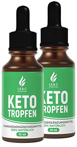 KETO TROPFEN Burn | Ketogen Drops | Extrem | Schnell | Unterstützung | Leicht & Einfach | 10 ml (2)