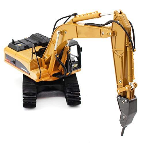 IIIL Juguetes Máquinas Demolición Modelo Excavadoras Aleación, Aleación Martillo 1:40 Vehículos Camiones Ingeniería Remolques Construcción Regalos para Niños