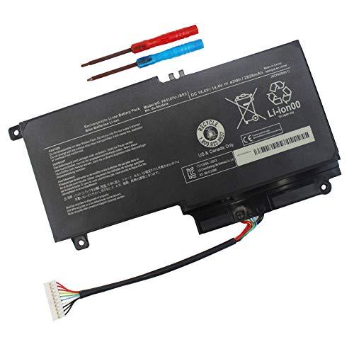 Domallk PA5107U-1BRS - Batería para portátil Toshiba Satellite L50 L50-A L55 L55t P50 P50-A P50-b P55t-a P55t-A5116 S55-A5295 S55t-A5202 S55t-A5337 S55t-A5389 P55-A5200 L55-A5284-12
