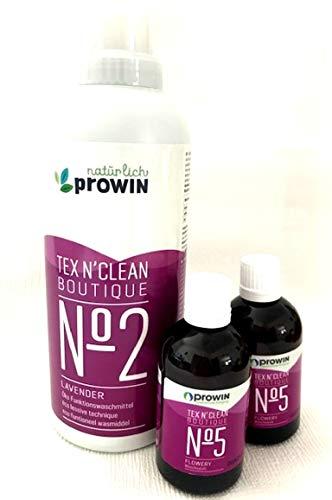 Pro Active Prowin 2 x Wäscheduft Flowery blumiger Wöscheduft Waschmittel 750ml im Set