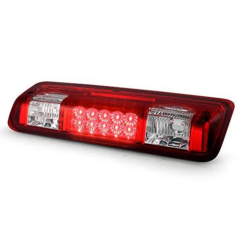 ACANII - LED 3rd Brake Stop High Mount Center Rear Roof Cargo Light For...