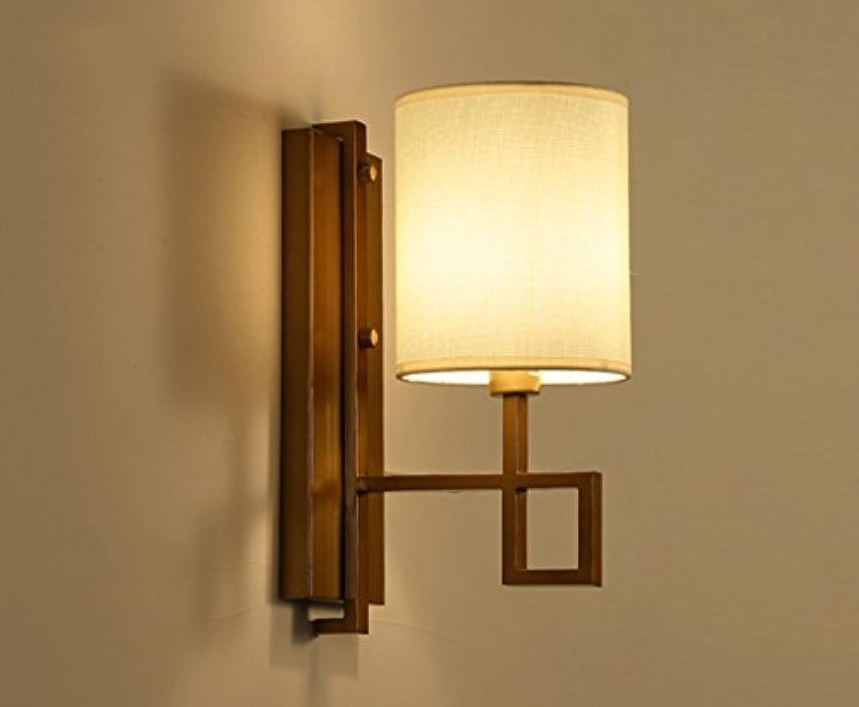 @Wandleuchte Wandleuchte - Moderne minimalistische Wandleuchte Nachttischlampe Schlafzimmer Wandleuchte Korridor Flur Hotel Interior Hintergrund Wandleuchte Wandlampe (Farbe   A)