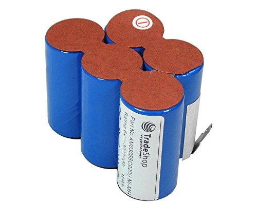 Trade-Shop Premium Ni-MH Akku 6V / 3000mAh Ersatz für ULO BOX Saft 123768 93230 5 VYRR VYRR 6 Sachs Mofa Mokick KKR (Reparatursatz, Reparaturkit, Selbsteinbau)