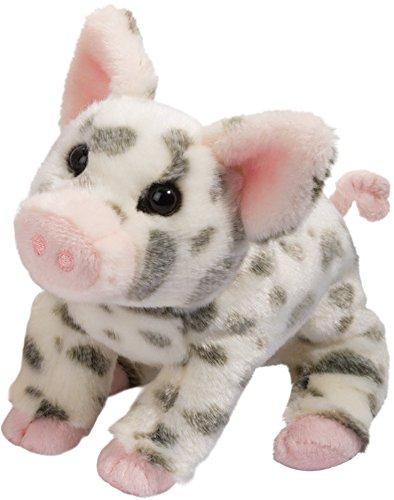 Cuddle Toys 1890Pauline SPOTTED PIG Schwein Ferkel schwarz/weiß gefleckt Kuscheltier Plüschtier Stofftier Plüsch Spielzeug