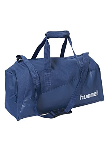 Hummel Authentic Charge - Borsa sportiva, Unisex - Adulto, Borsa per la palestra, 200910-7045, Blu (True Blue), 65 x 32 x 33 cm