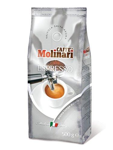 Caffè Molinari Espresso, ganze Bohne, 1er Pack (1 x 500 g)