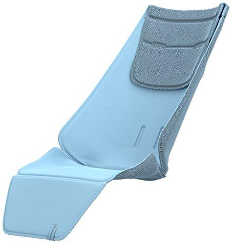 Quinny Kinderwagen Sitzauflage, hochwertiges und bequemes Sitzpolster, nutzbar für Quinny Kinderwagen Zapp Flex, Zapp Flex Plus und Zapp Xpress, sky blue