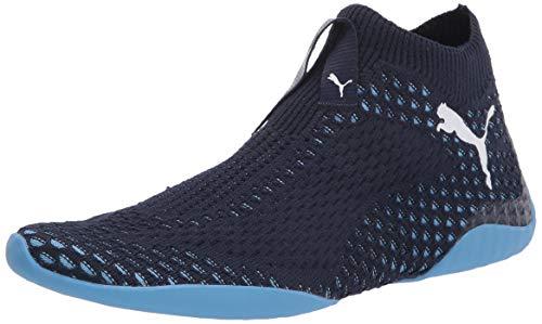 PUMA mens Active Gaming Footwear Mcfc Sneaker, Peacoat-team Light Blue, 6 US