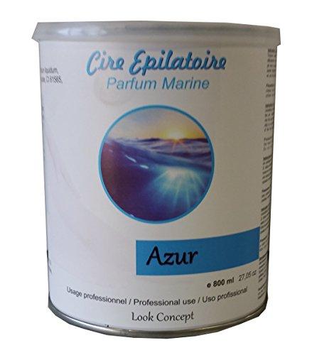 Storepil - Pot cire à épiler jetable AZUR - 800 ml pour épilation