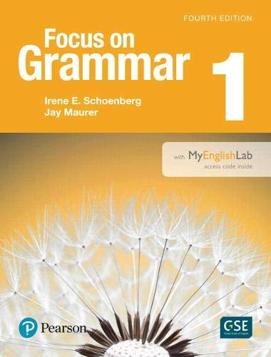 Value Pack: Focus on Grammar 1 Student Book with MyLab English and Workbook