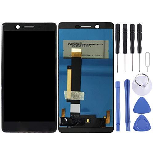 ZHUHAI Reemplazo de la Pantalla táctil de reparación de la Pantalla LCD + Touch Panel for Nokia 3 TA-TA-1020 1028 TA-1032 TA-1038 (Negro) Juegos de Montaje de Pantalla + Enteros Herramientas Juego de