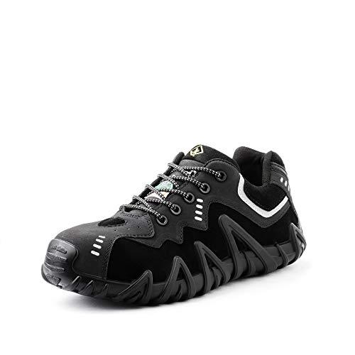 Terra Men's Spider Work Shoe, Black, 6 M US
