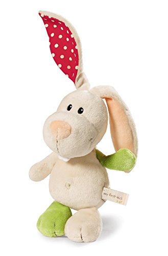 NICI 39685 Schmusetier Hase Tilli 25cm - Stofftier für Babys, Kleinkinder und alle Kuscheltierliebhaber - beige
