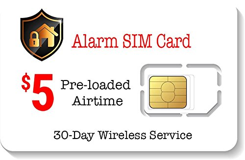 $5 Alarm SIM Card for GSM Home/Business Security Alarm System