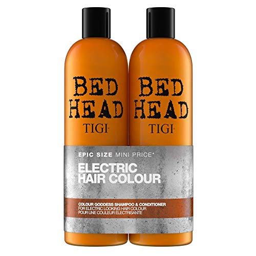 Bed Head by Tigi Colour Goddess Shampoo and Conditioner for Coloured Hair 2 x 750 ml