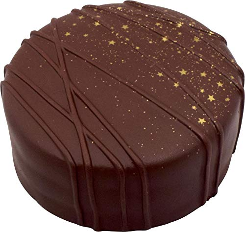 iBloom Sacher Torte Chocolate Cake Slow Rising Squishy Toy (Dark Chocolate, Chocolate Scented, 4 Inch) Birthday Gifts, Party Favors, Stress Balls, Pretend Play, Prop Decoration for Kids, Boys, Girls