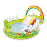 A/A Piscina infantil para niños, piscina de pie, jardín de verano, actividades al aire libre, aspersor, juguete de agua, para niños, 290 x 180 x 104 cm