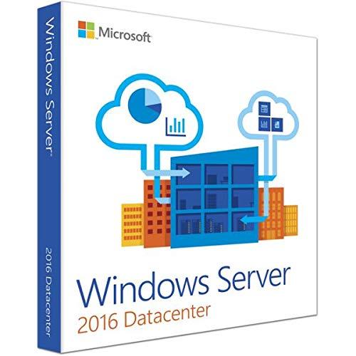 Windows Server 2016 Datacenter ESD Key Lifetime / Fattura / Consegna Immediata / Licenza Elettronica / Per 1 Dispositivo