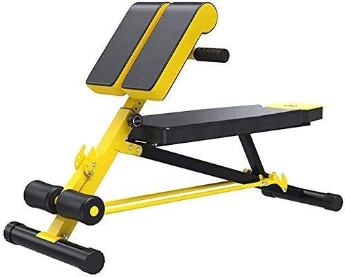DFKDGL Gewichtheben Verstellbarer Gewichtstisch Römischer Stuhl Fitnessstudio Rückenlehne Gewichtsbank Verstellbare Trainingsbank Lagergewicht 250 kg für Heimgymnastik