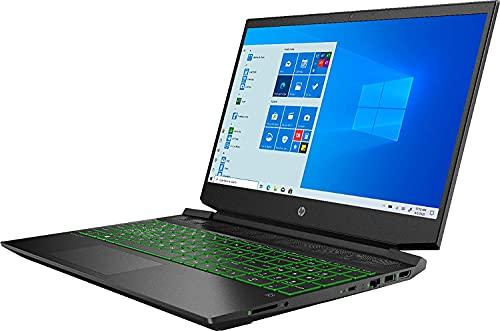 "HP Pavilion 2020 15.6"" FHD Gaming Laptop Computer, 6-Core AMD Ryzen 5 4600H 3.0GHz, 8GB RAM, 256GB SSD, NVIDIA GeForce GTX 1650, Backlit Keyboard, No DVD, Webcam, Bluetooth,Wi-Fi,HDMI,Win 10,TMLTT Kit"