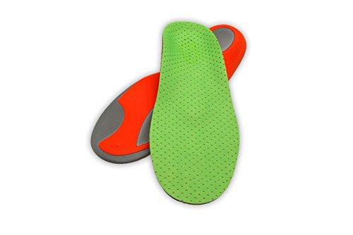 RASANDO Einlegesohlen Sport und Outdoor - Halten auch im Winter warm - Schuhsohlen für Sport Freizeit und Arbeitsschuhe - Atmungsaktiv, verhindert Fussgeruch - Sportsohlen für Damen und Herren 43