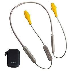 top 10 motorcycle ear buds Ruckus Discord Bluetooth In-Ear Headphones | OSHA Compliant Wireless In-Ear…