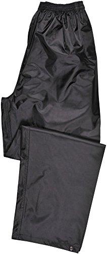 Portwest Klassische Regenhose, für Erwachsene, klassischer Schnitt, L, schwarz