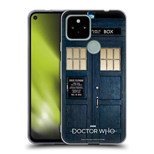 Head Case Designs Offizielle Doctor Who Tardis Staffel 11 Schluessel Kunst Soft Gel Handyhülle Hülle Huelle kompatibel mit Google Pixel 4a 5G