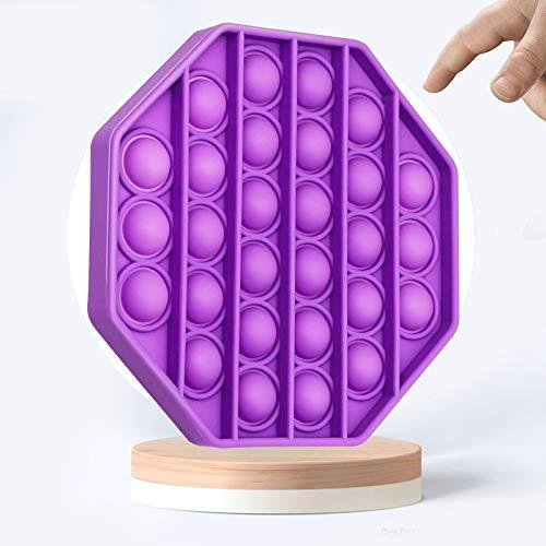 Fidget-Spielzeug, Stressabbau, Stressabbau, hilft Emotionen, Extrusionsblase, Anti-Stress-Spielzeug (lila)