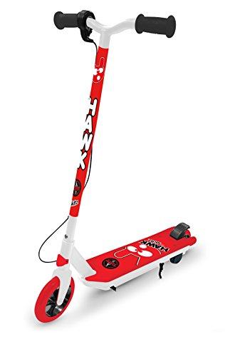 GoSkitz Hybrides Hawk Elektro Scooter, Rot, Einheitsgröße