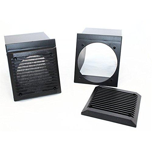 Sound-way Luidsprekerhouder voor Luidspreker Speaker Autoradio 10 cm compatibel met Fiat Panda 3