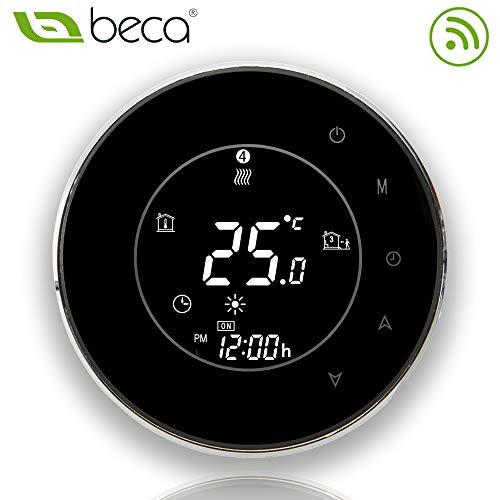 BECA 95 ~ 240VAC 3A smart WIFI LCD touchscreen drahtlose programmierbare wasser heizung fußboden thermostat (BHT-6000GALW schwarz)