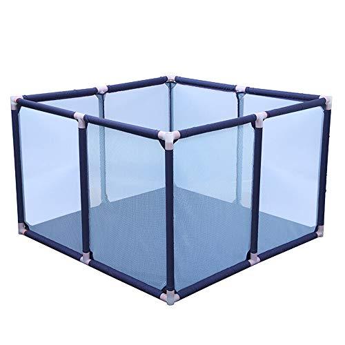clôture de jeu, barrière de jeu de tapis rampants pour enfants, barrière de sécurité pour tout-petits, 100 * 100 * 65cm (100 balles océaniques), barrière de barrière pour bébé