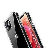 ANEWSIR Case Compatibile per iPhone 12/12 PRO Cover Clear, Cover Posteriore in PC Trasparente a 180 Gradi, Cornice Morbido TPU [AntiGraffio/Antiurto] Cover per iPhone 12/12 PRO (6.1'')