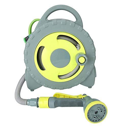 Oumefar Schlauchsprinkler-Wasserrohrhalter Verschleißfestes PVC-Material für die Gartenbewässerung