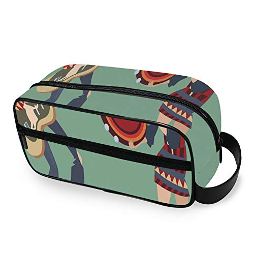 Colorful Tambourine Suitable Gifts Toiletry Bags for Traveling with Zippers Travel Toiletry Bag Carry-on Travel Accessories Toiletry Travel Bag for Men and Women Toiletry Travel Bag for