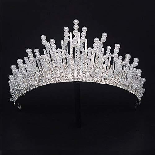 Love lamp Diademe Verschiedene Silber Kristall Braut Tiara Crown Fashion Perle Königin Hochzeit Krone Kopfschmuck Hochzeit Haarschmuck Zubehör Großhandel Stirnbänder Für...