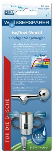 RST 1402 Durchflussregulierer Isoflow mit Drehanschluss