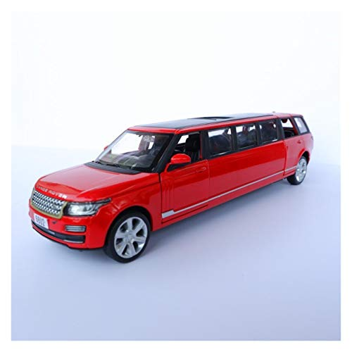 ZCLY 1:32 Alloy for Limousine Stretch SUV Diecast Toy Car Model Toy Metal Vehicle Pull Back with Sound Light Toy Gift Die-cast car (Color : 1)