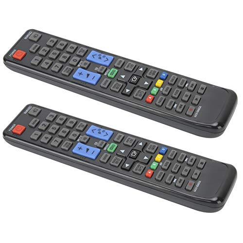 Tomanbery Botón Grande Alimentado por batería Control Remoto Universal de TV de Respuesta más rápida Dispositivo de Mano Compatible con UE19D4000NW UE22D5000NH